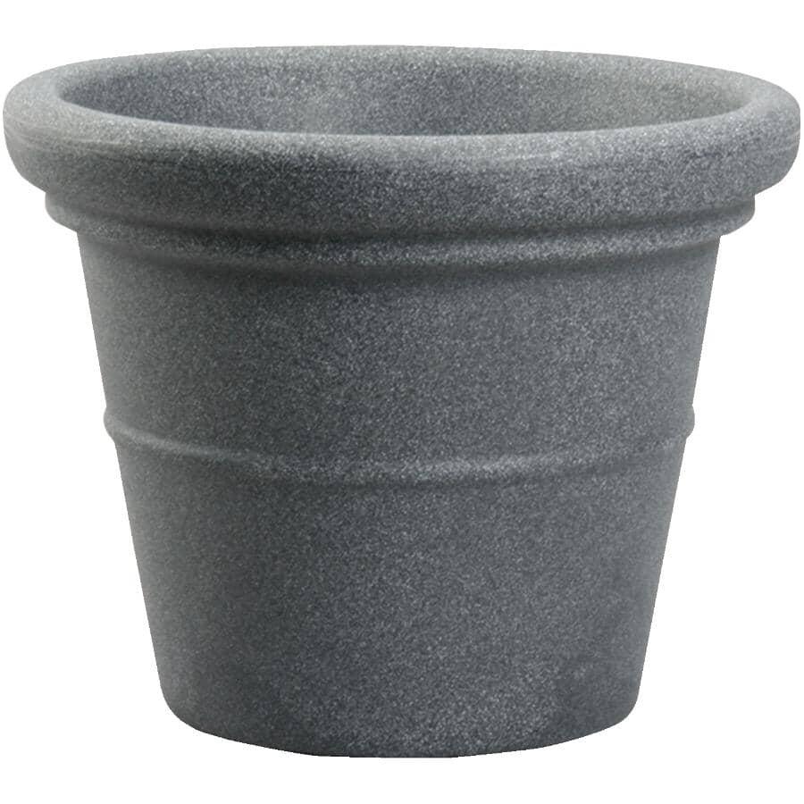 """AKRO-MILS:20"""" Granite Round Terrazo Poly Planter"""