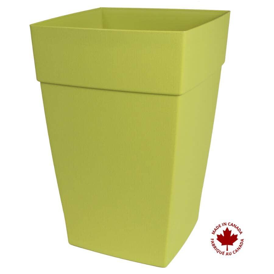 DCN:Jardinière Harmony à auto-arrosage, vert, 12 po
