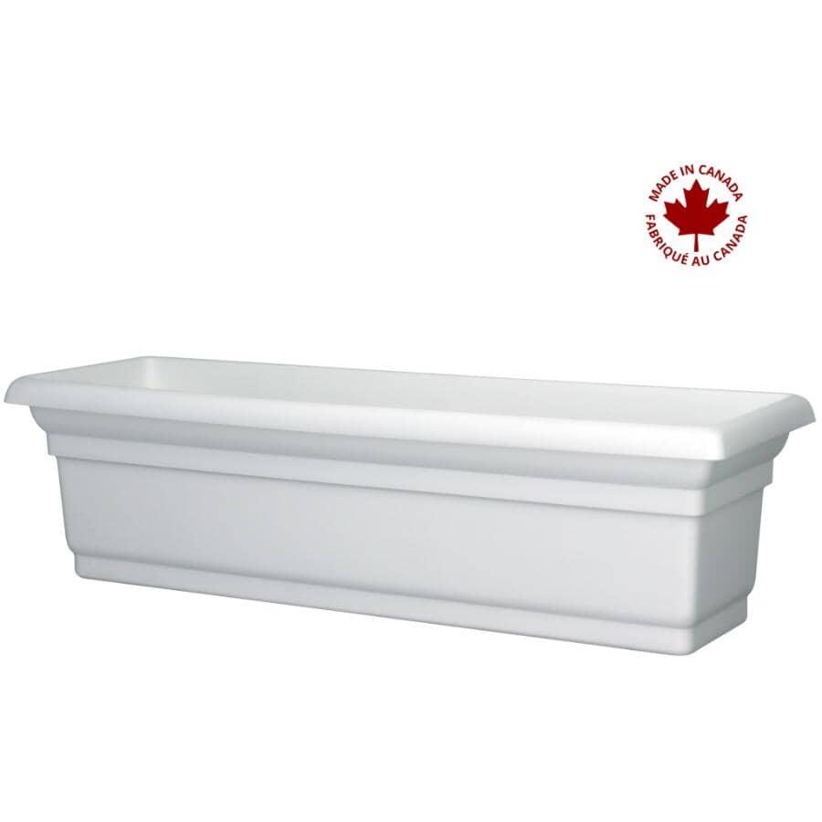 DCN:Jardinière pour fenêtre Distinction, blanc, 24 po