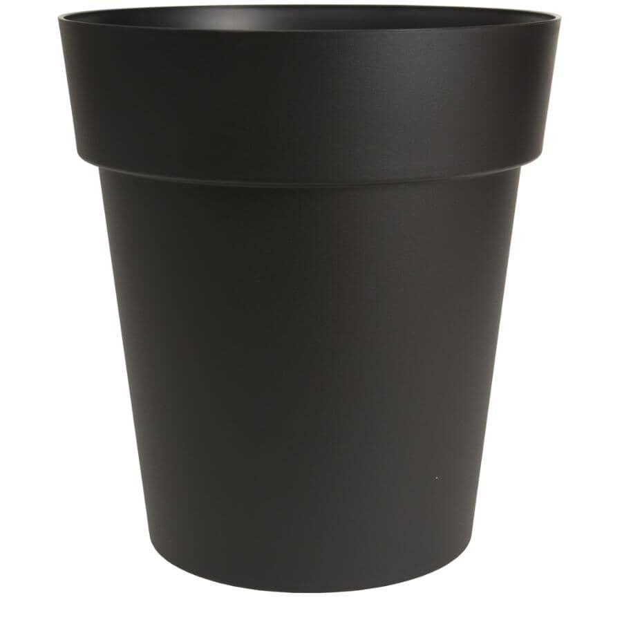 DCN:Jardinière Viva de 21 po à auto-arrosage, noir