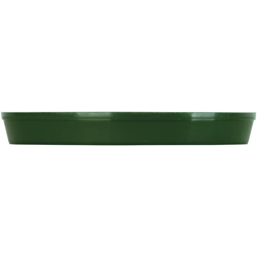 "PLANTERS PRIDE:10"" Green Planter Saucer"