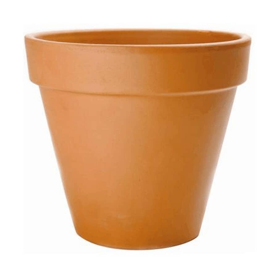 "HOFLAND:10"" Standard Clay Planter"