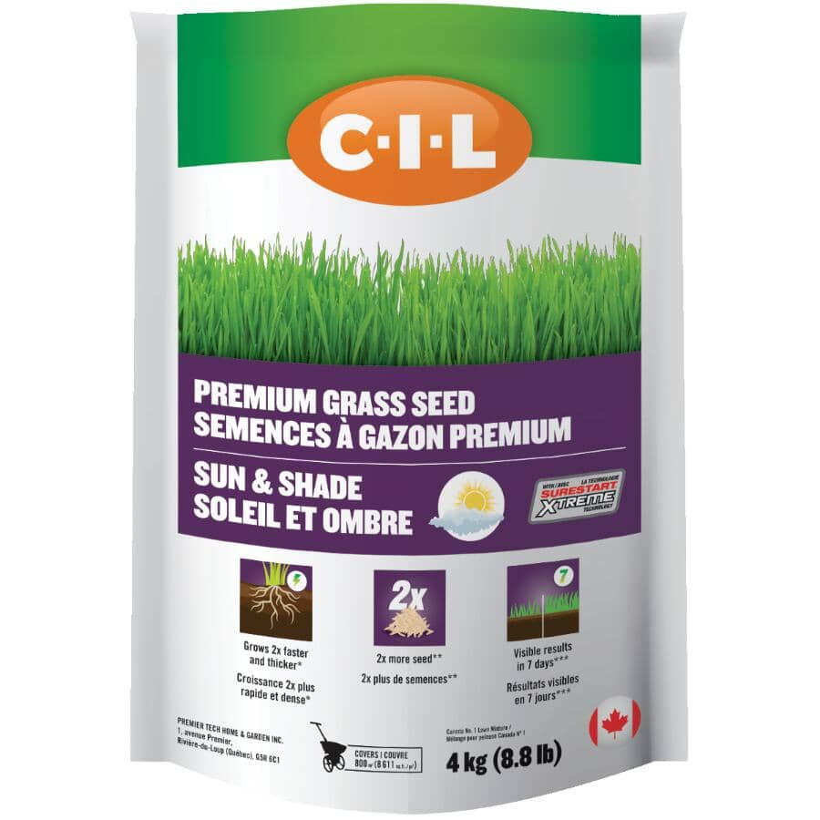 C-I-L:4kg Sun and Shade Mix Grass Seed