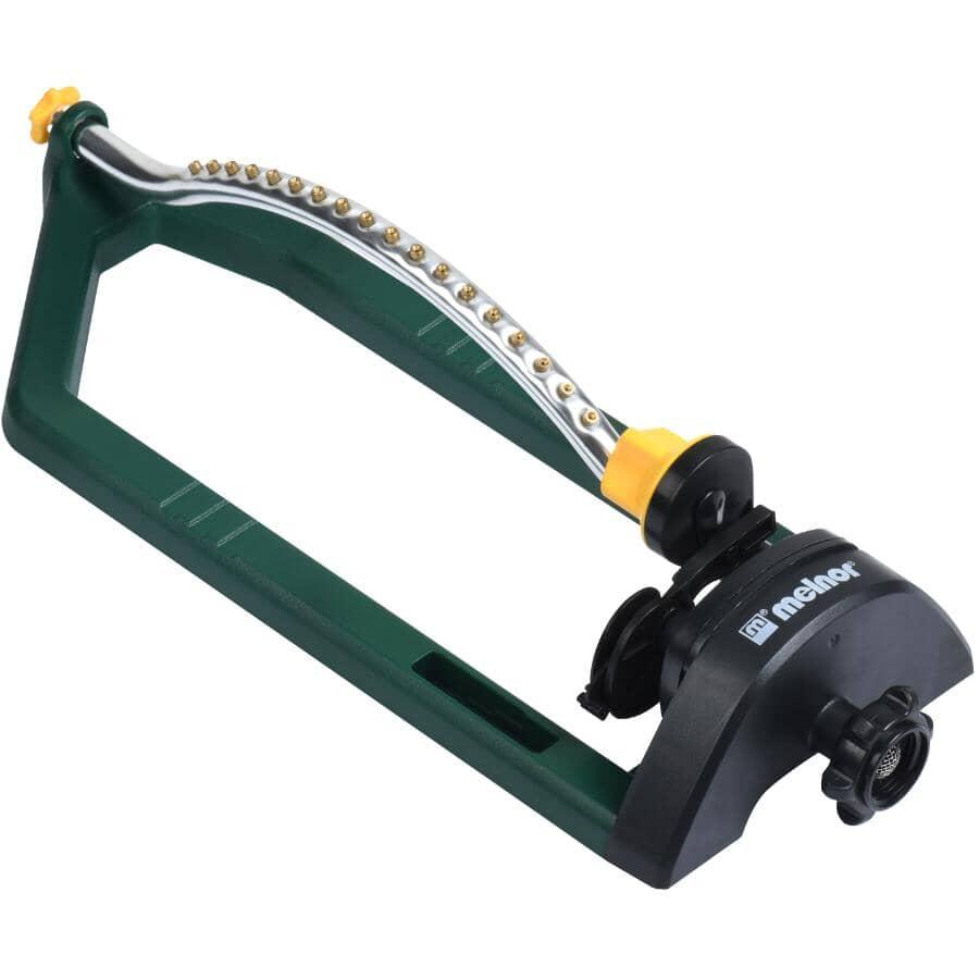 MELNOR:4 Position Oscillating Lawn Sprinkler - 3400 Sq.Ft.