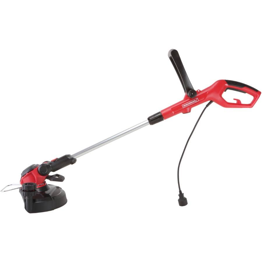 """BENCHMARK:15"""" Electric Lawn Trimmer - 5.5 Amp"""