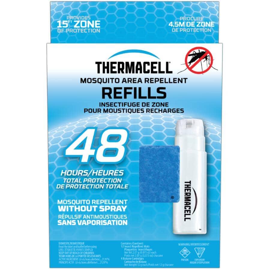 THERMACELL:Paquet de cartouches et tampons de recharge