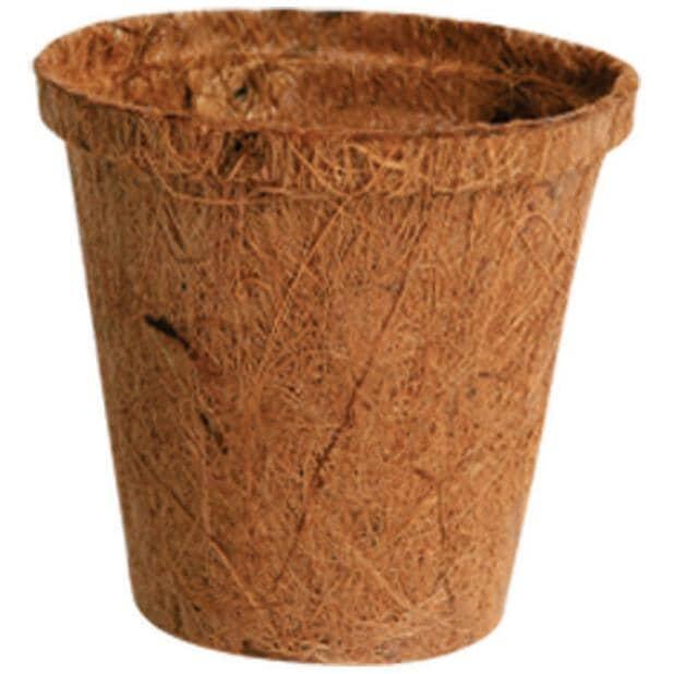 "PLANTERS PRIDE:8 Pack 3"" Fiber Grow Pots"