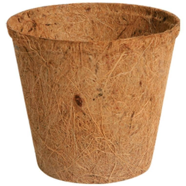 "PLANTERS PRIDE:6 Pack 4"" Fiber Grow Pots"