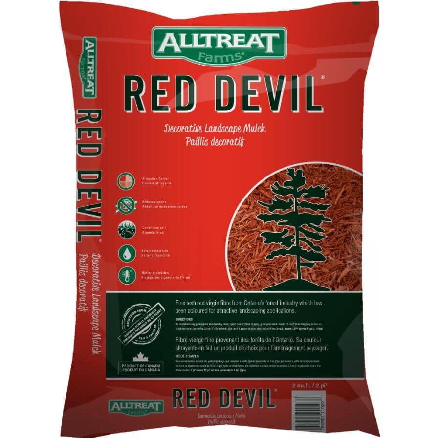 ALL TREAT FARMS:2 Cu.Ft. Red Devil Garden Mulch