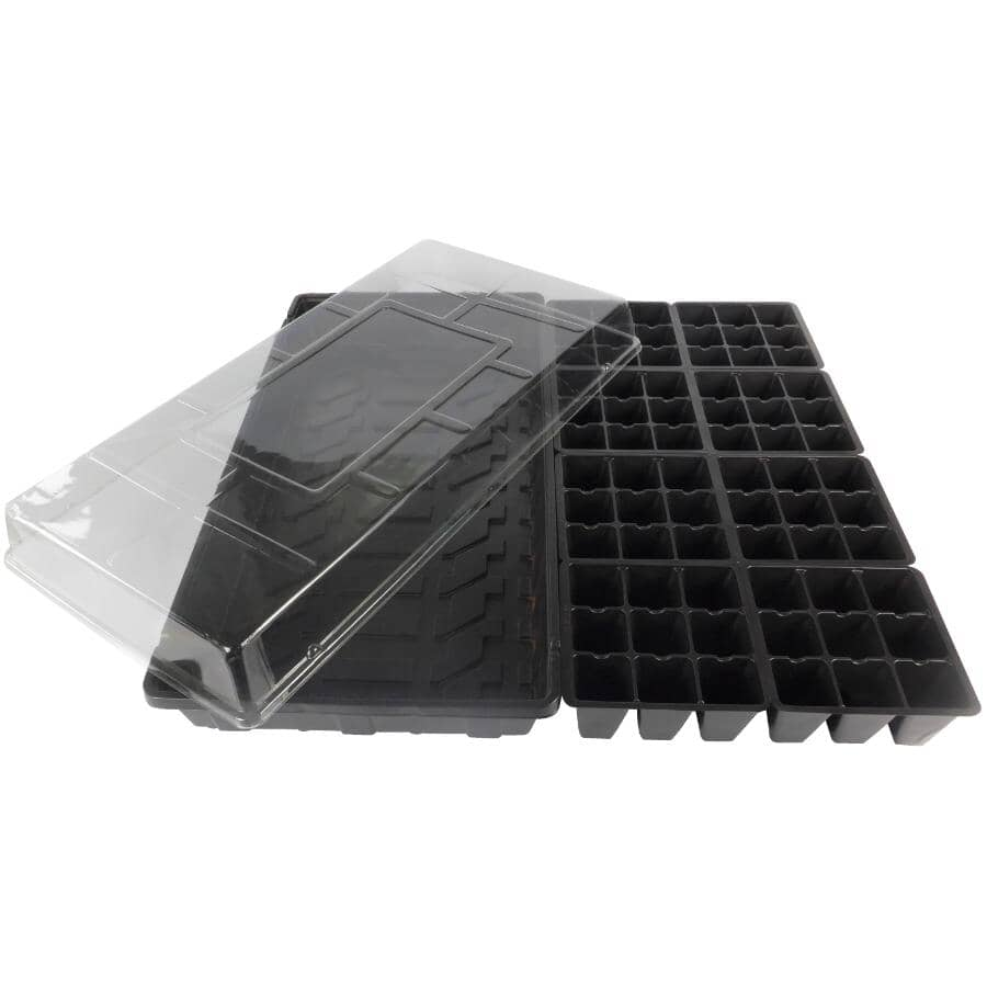 PLANTERS PRIDE:72 Cell Plastic Seed Starter Kit