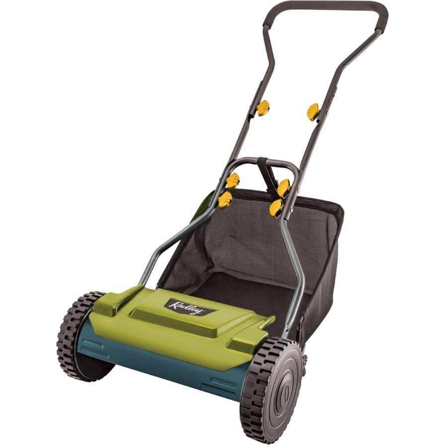 "RADLEY:15"" Push Reel Lawn Mower - 5 Blade"
