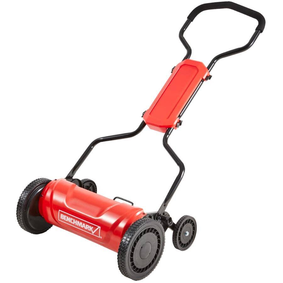 "BENCHMARK:18"" Push Reel Lawn Mower - 5 Blade"