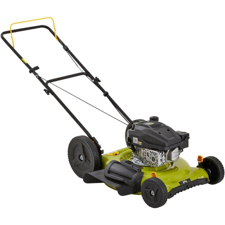 """RADLEY:144cc 2-In-1 Gas Lawn Mower - 22"""""""