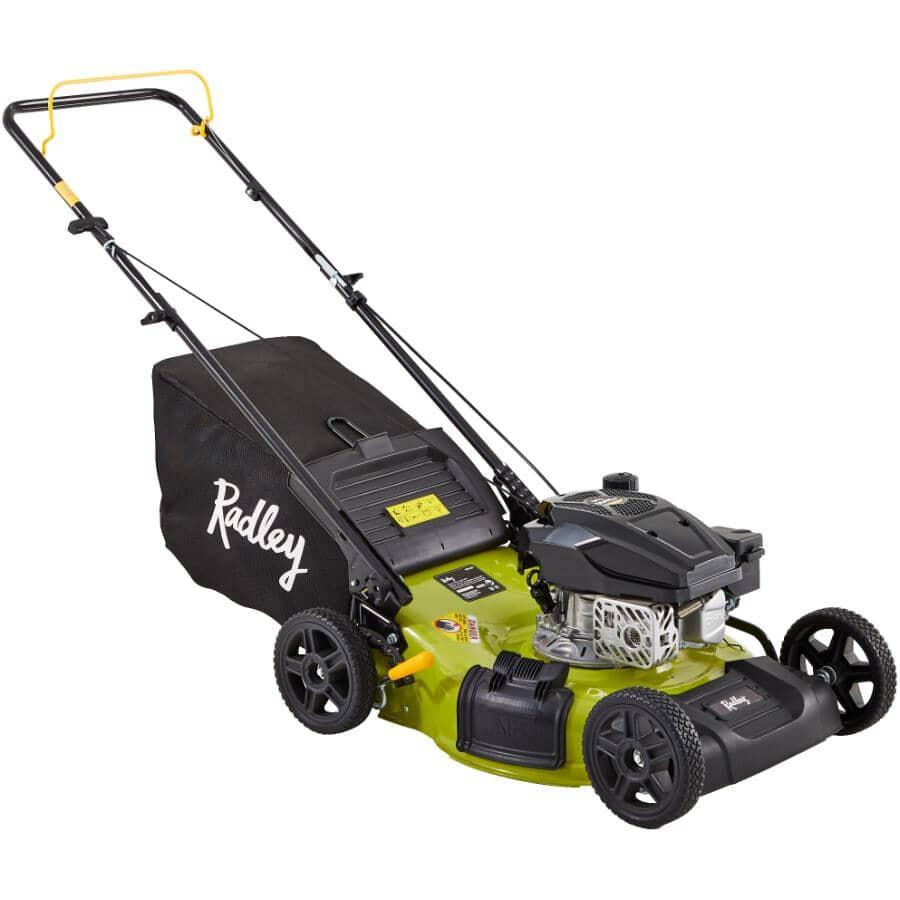 """RADLEY:144cc 3-In-1 Gas Lawn Mower - 22"""""""