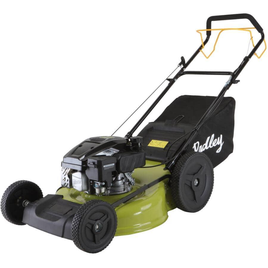 "RADLEY:170cc Self-Propelled 3-In-1 Gas Lawn Mower - with Rear Wheel Drive, 22"""