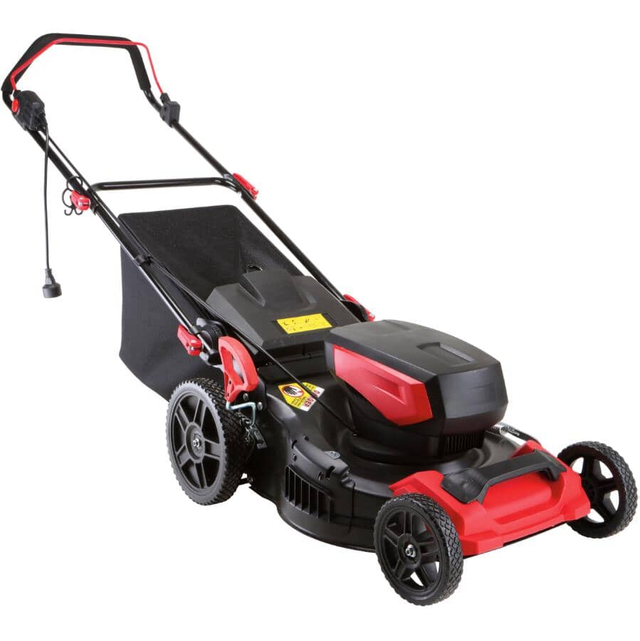 """BENCHMARK:19"""" Electric Lawn Mower - 15 Amp"""