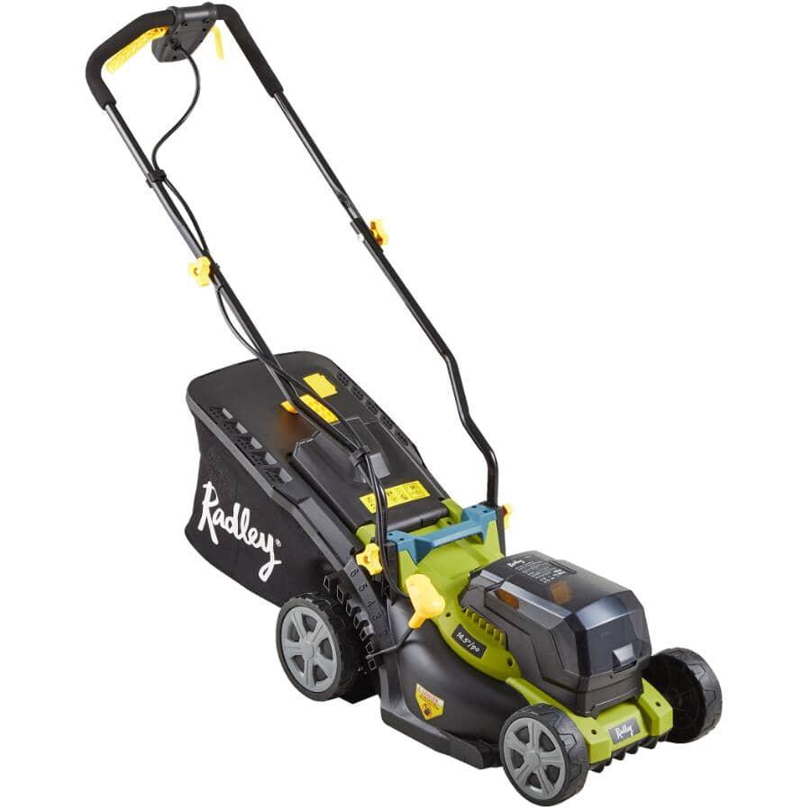 "RADLEY:14.5"" Cordless Lawn Mower - 40 Volt"