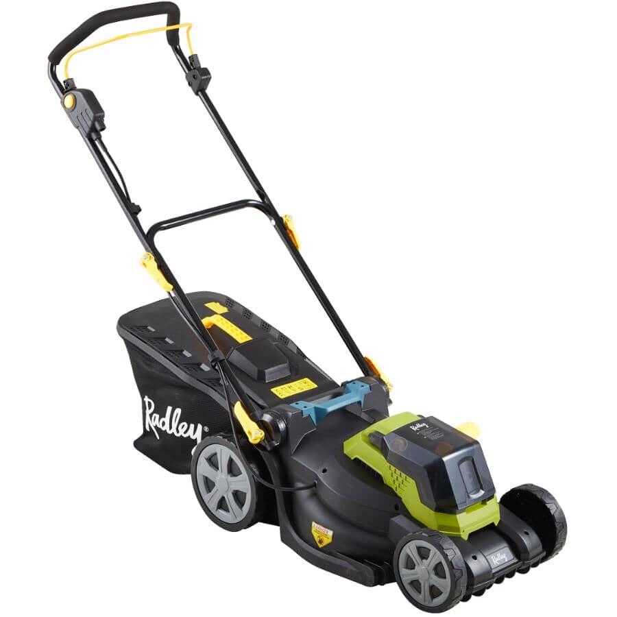 "RADLEY:17.5"" Cordless Lawn Mower - 40 Volt + Brushless"