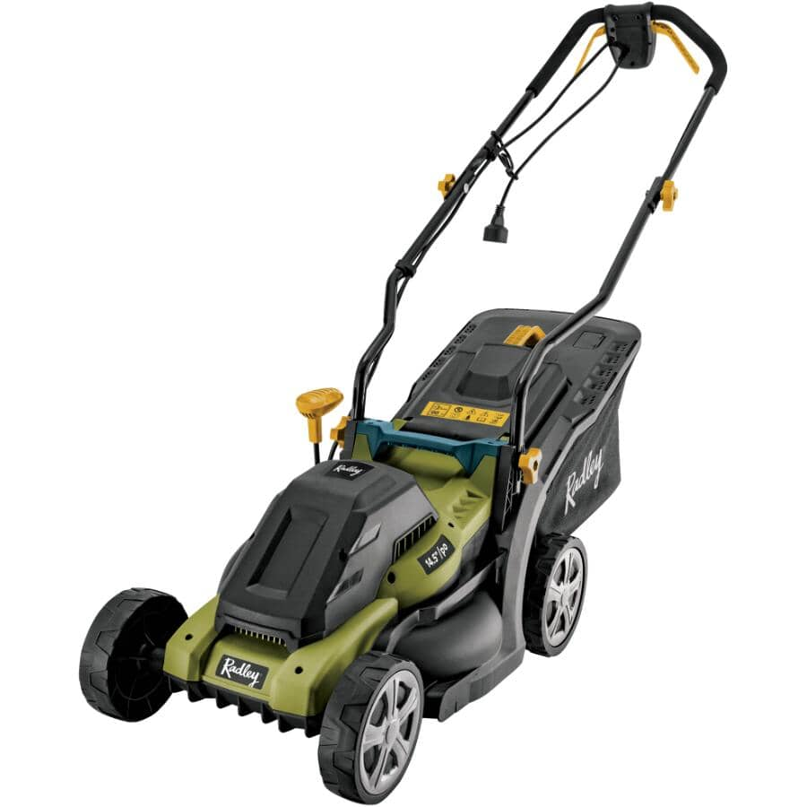 "RADLEY:14.5"" Electric Lawn Mower - 12 Amp"