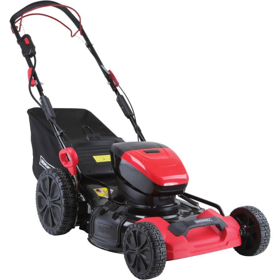 "BENCHMARK:60V Cordless Self-Propelled Lawn Mower - 21"""