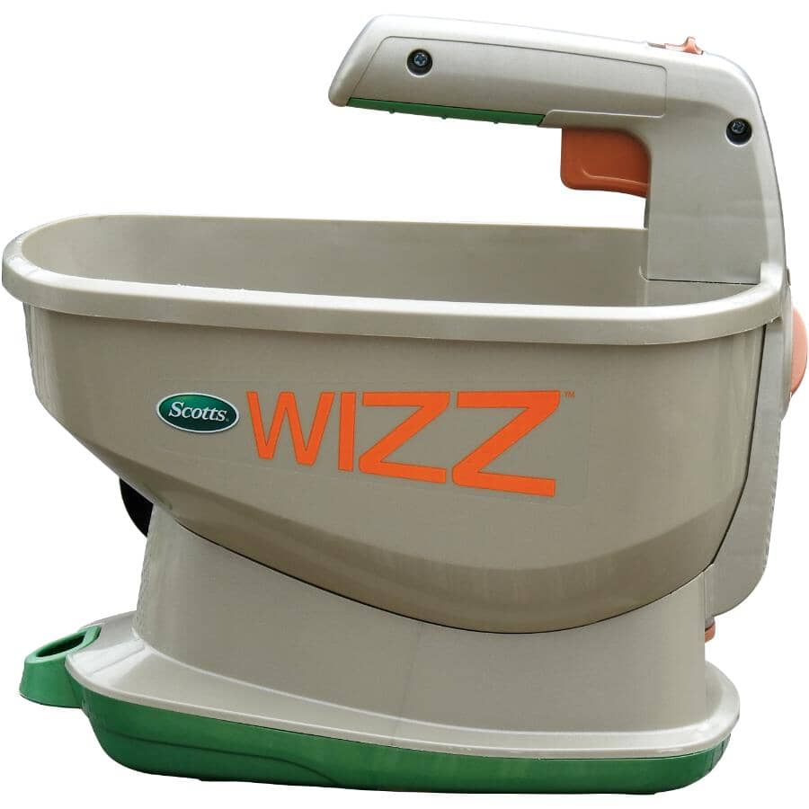 SCOTTS:Wizz Battery Powered Fertilizer, Seed, and Ice Spreader