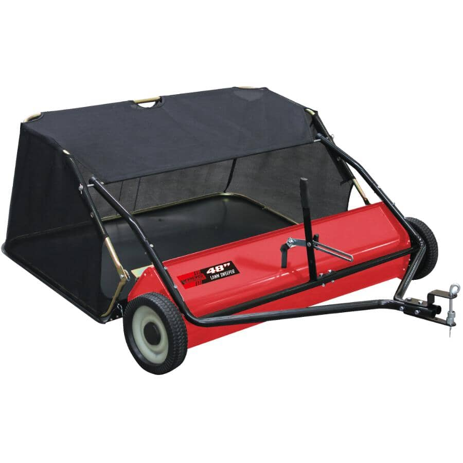 "YARD COMMANDER:48"" Tow Lawn Sweeper - 14.6 Cu. Ft"