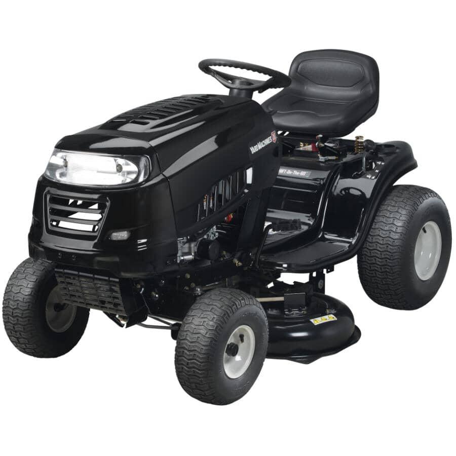 """YARD MACHINES:439cc Lawn Tractor - 36"""""""
