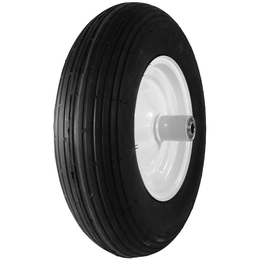 "LASER:16"" Pneumatic Wheelbarrow Wheel and Tire"