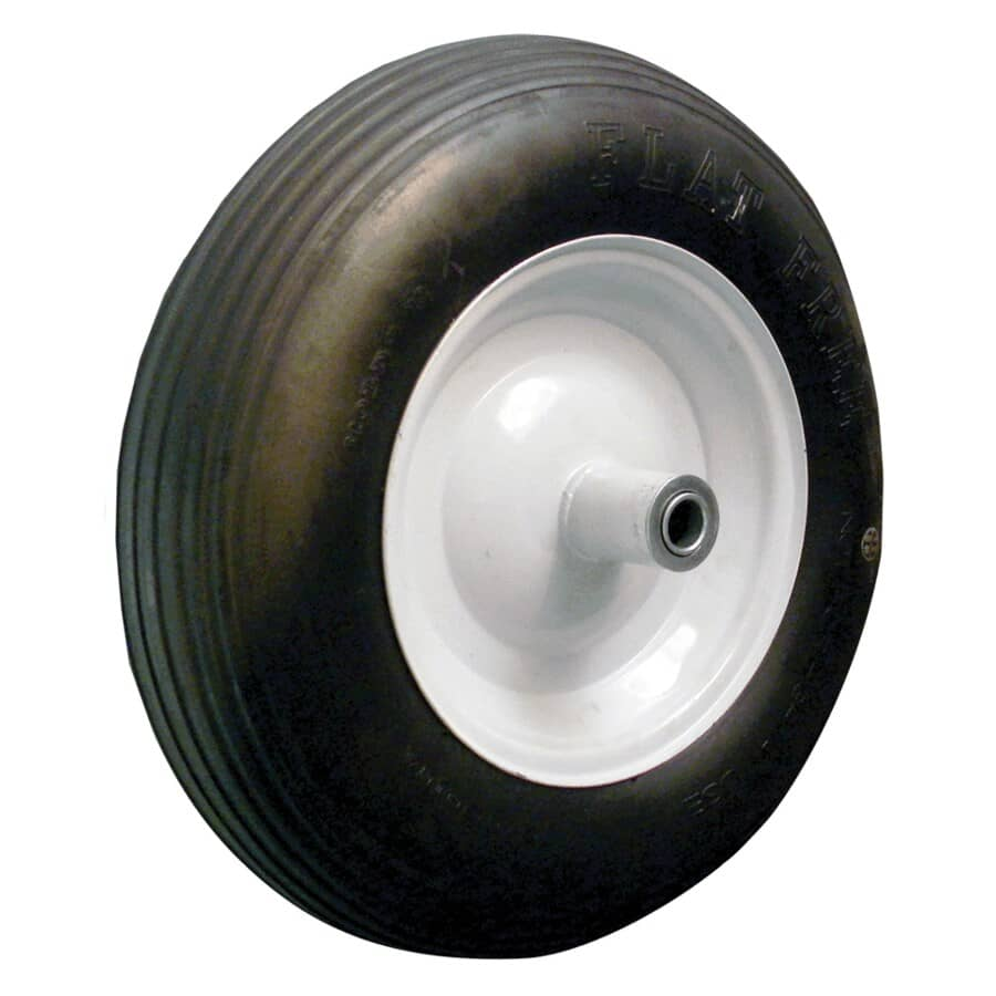 LASER:Universal Flat Free Wheelbarrow Wheel and Tire