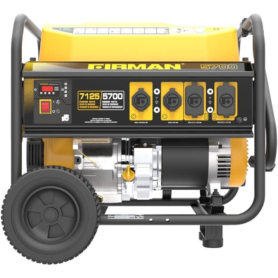 FIRMAN:7125W Portable Gas Generator - 74dB