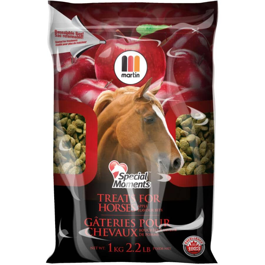 MARTIN MILLS:Special Moments Horse Treats - Apple Flavour, 1 kg