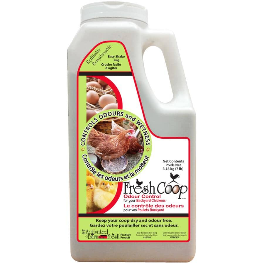 FRESH COOP:Odour Control - for Backyard Chickens, 3.18 kg