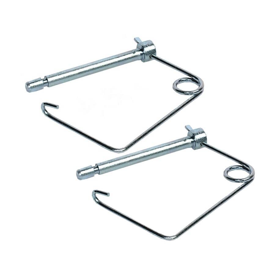 SPEECO:Paquet de 2 chevilles d'attelage de 5/16 po x 2-1/4 po, avec manche de verrouillage