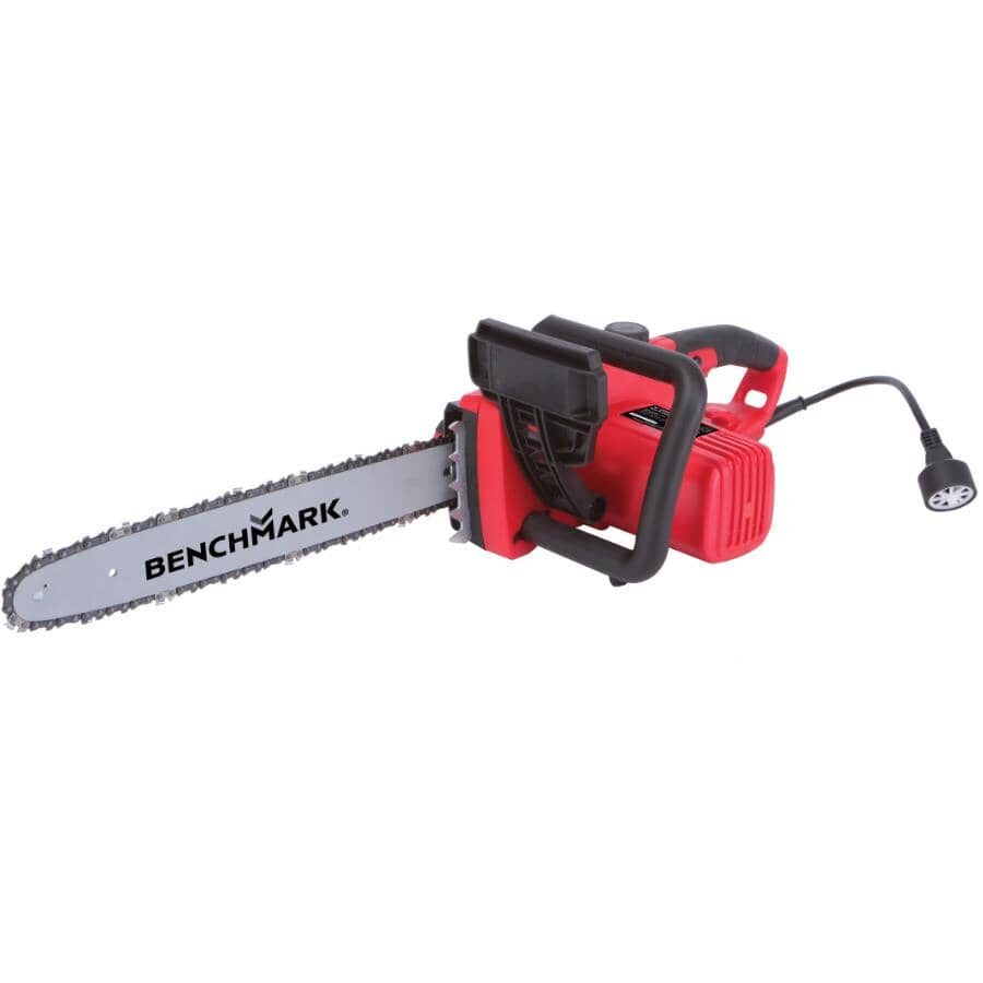 """BENCHMARK:16"""" Electric Chainsaw - 15 amp"""