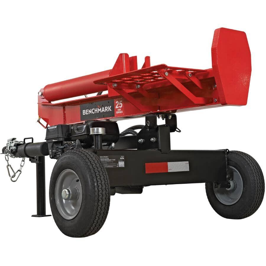BENCHMARK:25 Ton Gas Log Splitter - with Log Catcher