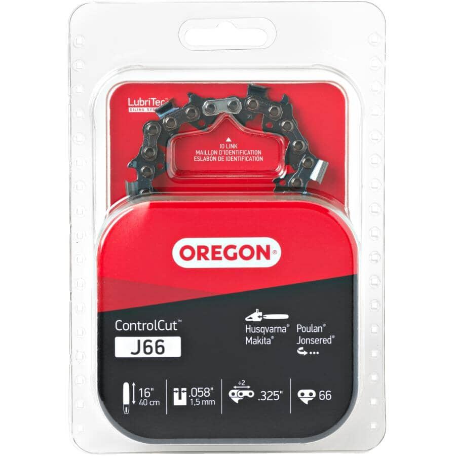 "OREGON:J66 ControlCut Replacement Chainsaw Chain - 16"""