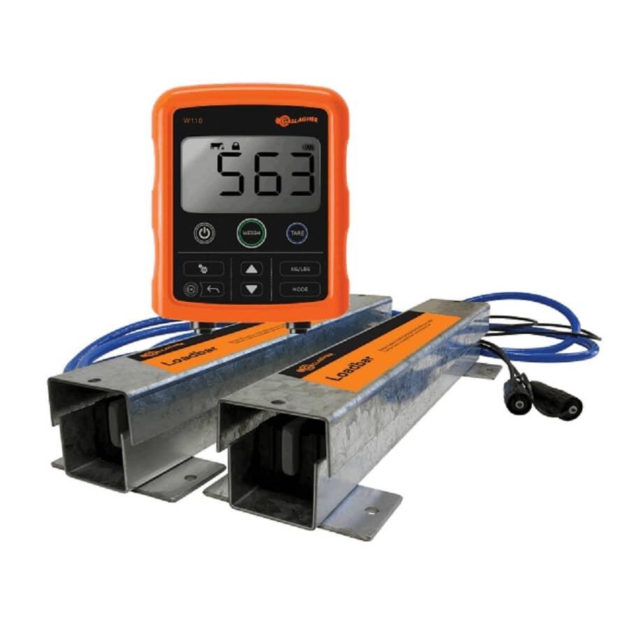 GALLAGHER:Appareil de pesage numérique avec support et barres de pesée