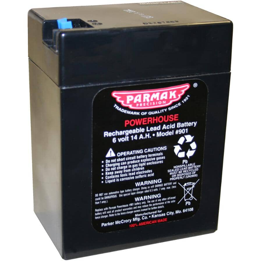 PARMAK:Replacement Solar Battery - 6V