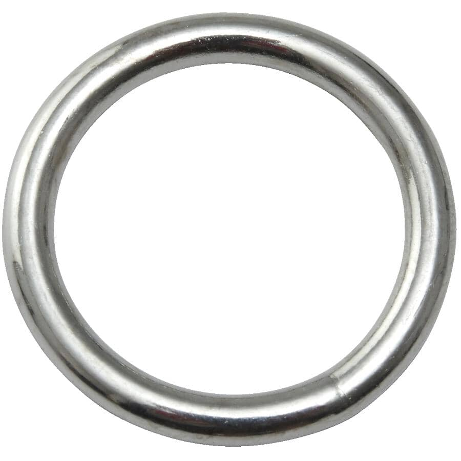 COUNTRY HARDWARE:20 x 3mm Zinc Plated Harness Ring
