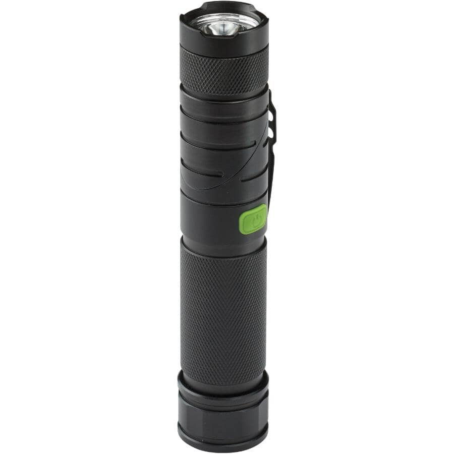 BLACKFIRE:LED Twist Tactical/Worklight, with Batteries