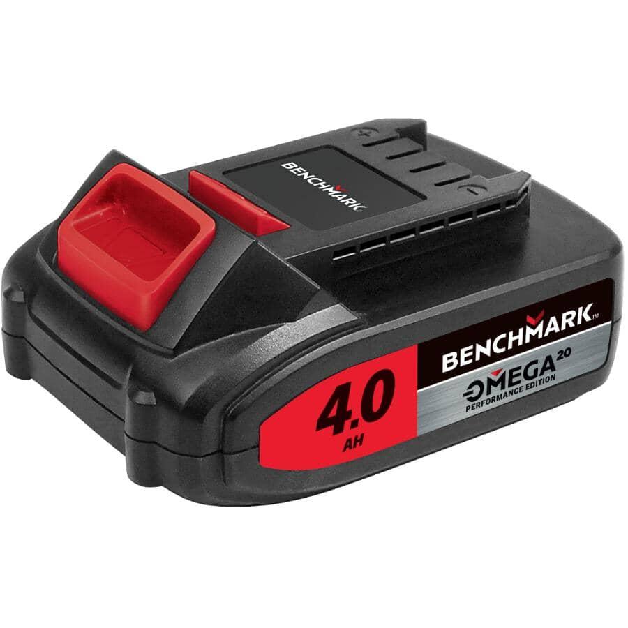 BENCHMARK:20 Volt Max 4.0 AH Lithium-ion Battery