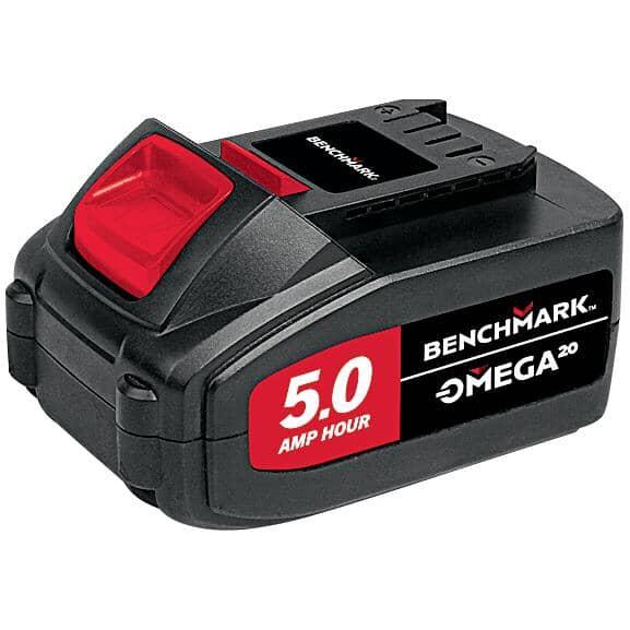 BENCHMARK:20 Volt Max 5.0 AH Lithium-ion Battery