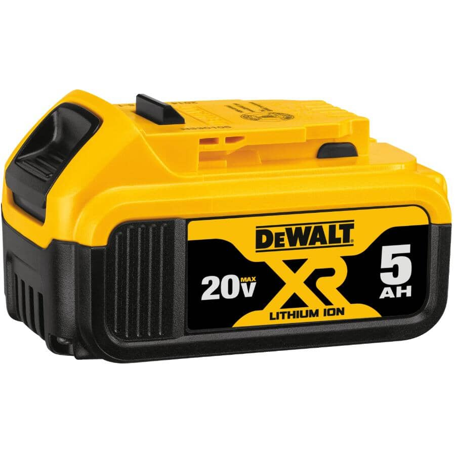 DEWALT:XR Lithium-ion Battery - 20V Max, 5.0 Ah