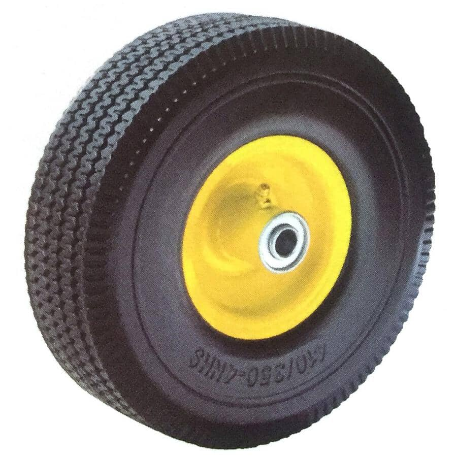 """TUFX:300lb Rated 10"""" Polyurethane Wheel, for Hand Truck"""