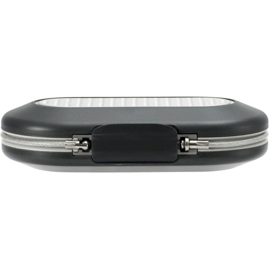 MASTER LOCK:Grey Personal Portable Safe