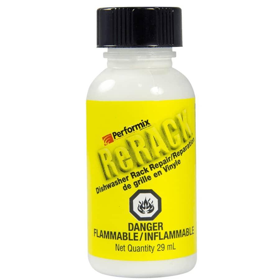 PERFORMIX:Réparation de grille en vinyle pour lave-vaisselle ReRack, blanc, 29,5 ml