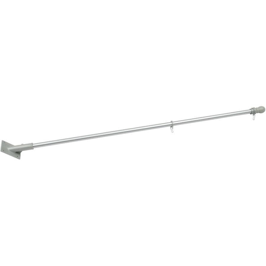 HOME:5' Aluminum Flagpole Kit
