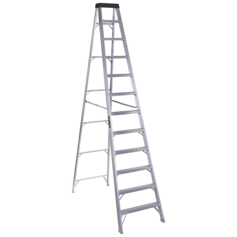 FEATHERLITE:12' #1A Aluminum Step Ladder