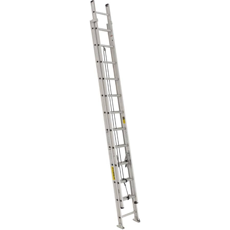 FEATHERLITE:24' #1A Aluminum Extension Ladder