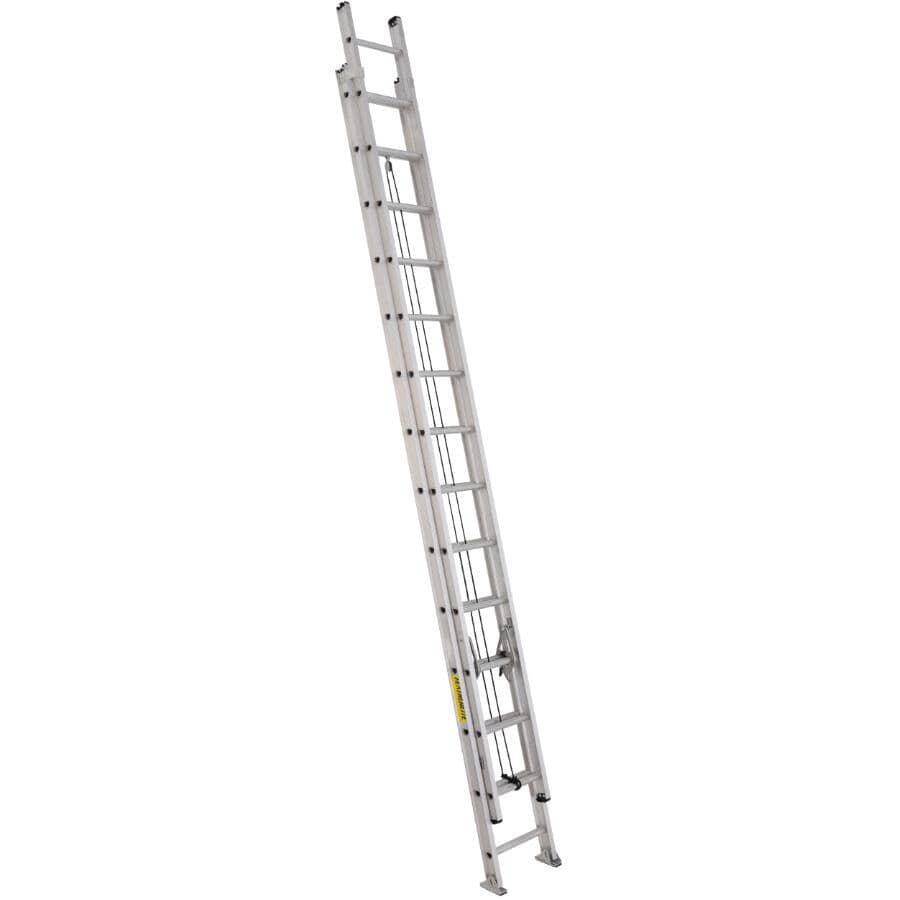 FEATHERLITE:28' #1A Aluminum Extension Ladder